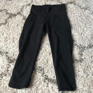 lululemon athletica Pants - lululemon// black high waisted crop pants